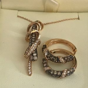 Levian Necklace and earring set.